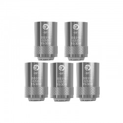 [Ships from HongKong] Authentic Joyetech BF SS316 Replacement Coil Heads For Cubis Tank - Silver, 0.5 Ohm (15~30W) (5 PCS)