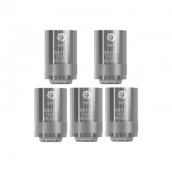 [Ships from HongKong] Authentic Joyetech BF SS316 Replacement Coil Heads For Cubis Tank - Silver, 1.0 Ohm (10~25W) (5 PCS)
