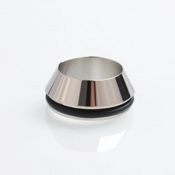 SXK 16mm Atomizer Adapter Ring for Smuggler Style 18650 Mechanical Mod - Silver, 316 Stainless Steel