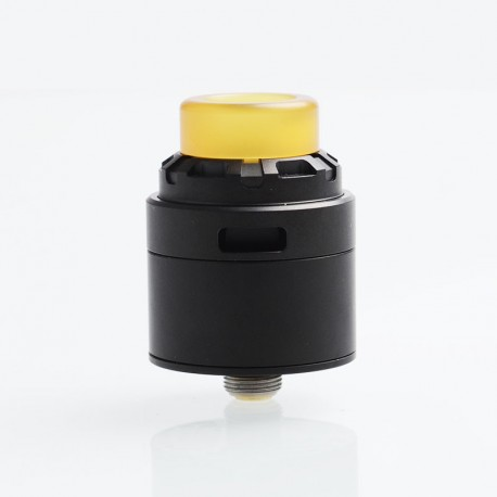 SXK Reload X Style RDA Rebuildable Dripping Atomizer w/ BF Pin - Black, Stainless Steel, 24mm