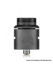 C2MNT V2 Style RDA Rebuildable Dripping Atomizer w/ BF Pin - Black, Stainless Steel, 24mm Diameter