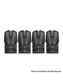 Authentic Uwell Yearn Pod Kit Replacement Empty Pod Cartridge - Black, 1.5ml (4 PCS)