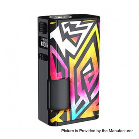 [Ships from HongKong 2] Authentic Wismec Luxotic Surface 80W TC VW Squonk Box Mod - Linear, 1~80W, 6.5ml, 1 x 18650