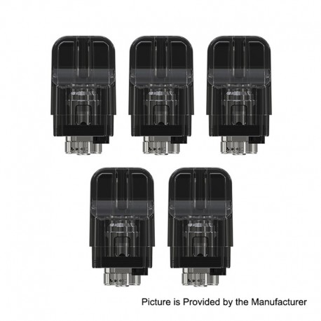 [Ships from HongKong 2] Authentic Eleaf iTap Replacement Pod Cartridge - 2ml, 1.6 Ohm (5~10W) (5 PCS)