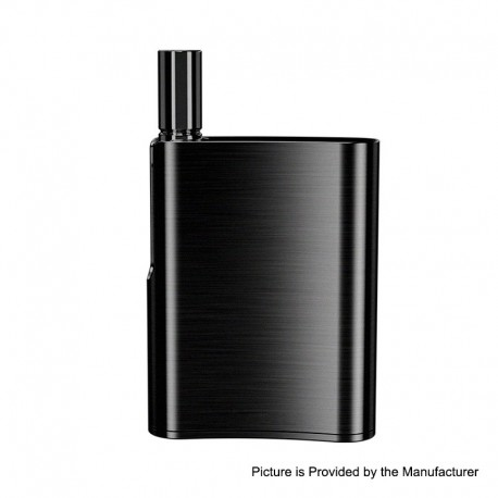 [Ships from HongKong 2] Authentic Eleaf iCare Flask 520mAh Battery Mod + 10mm Atomizer Kit - Black, 1.0ohm, 1.0ml