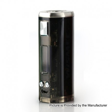 [Ships from HongKong 2] Authentic Wismec SINUOUS V80 80W TC VW Variable Wattage Box Mod - Black, 1~80W, 1 x 18650