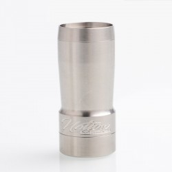 Authentic Timesvape Notion MTL Hybrid Mechanical Mod - Stainless Steel, SS, 1 x 18350 / 20350, 24mm Diameter