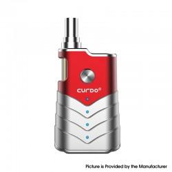 Authentic Curdo M-One 400mAh Box Mod w/ M-One Atomizer Starter Kit - Red, Zinc Alloy + PC, 1~3ohm