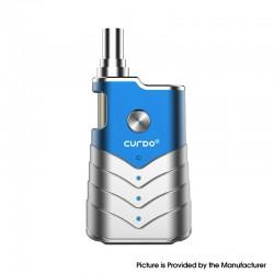 Authentic Curdo M-One 400mAh Box Mod w/ M-One Atomizer Starter Kit - Blue, Zinc Alloy + PC, 1~3ohm