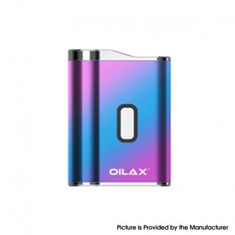Authentic OILAX Cano 420mAh Vaporizer Box Mod Battery - Rainbow
