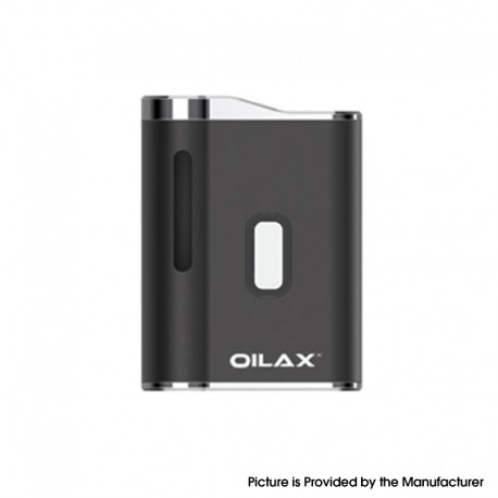 Authentic OILAX Cano 420mAh Vaporizer Box Mod Battery - Black