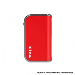 Authentic OILAX Cito C2 2-in-1 400mAh Vaporizer Box Mod Battery - Red