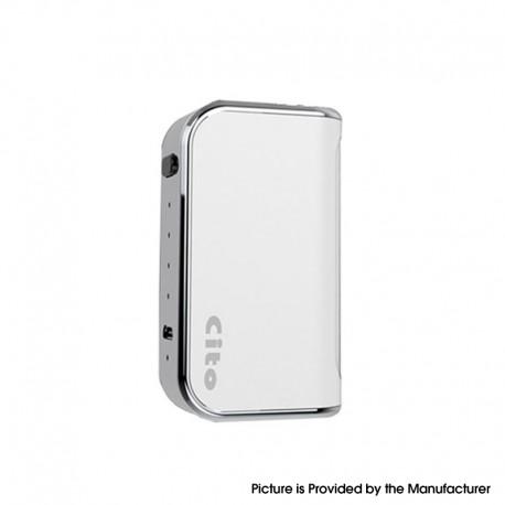 Authentic OILAX Cito C2 2-in-1 400mAh Vaporizer Box Mod Battery - White