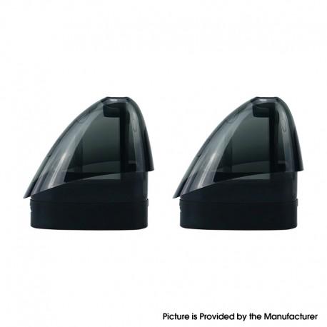 Authentic Venvii FITT-II Kit Replacement Empty Pod Cartridge - Black, 2ml (2 PCS)