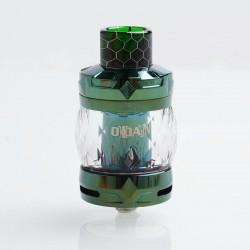 Authentic Aspire Odan Sub Ohm Tank Vape Atomizer - Emerald, Stainless Steel + Pyrex Glass, 5ml / 7ml, 28mm Diameter