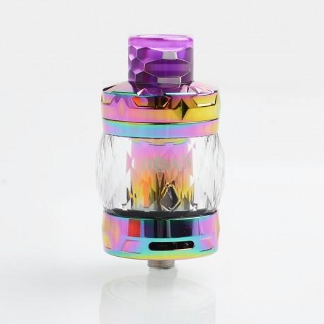 Authentic Aspire Odan Sub Ohm Tank Vape Atomizer - Rainbow, Stainless Steel + Pyrex Glass, 5ml / 7ml, 28mm Diameter