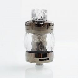 Authentic Aspire Odan Sub Ohm Tank Vape Atomizer- Smoky Quartz, Stainless Steel + Pyrex Glass, 5ml / 7ml, 28mm Diameter