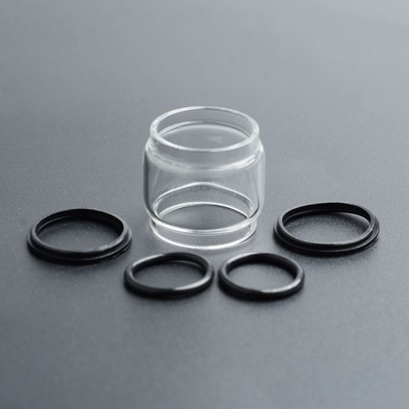 Authentic SMOKTech SMOK Replacement Bubble Tank Tube for TFV12 Prince Tank - Transparent, Glass, 8ml