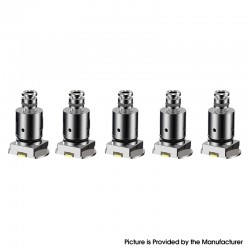 Authentic Sikary Pashto Pod Kit Replacement Vertical Spring Coil Head - Silver, 1.4ohm (5 PCS)