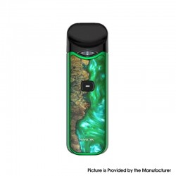 Authentic SMOKTech SMOK Nord 1100mAh Pod System Starter Kit - Green Stabilizing Wood, 0.6ohm / 1.4ohm, 3ml