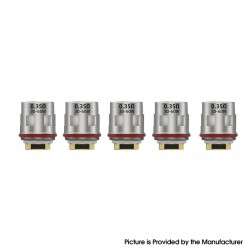 Authentic Goforvape Satisfy Pod Kit Replacement GFV-EX1 Clapugatted Coil Head - Silver, 0.35ohm (30~60W) (5 PCS)