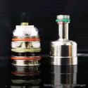 Authentic Goforvape Satisfy Pod Kit Replacement RBA Rebuildable Single Coil Head - Silver