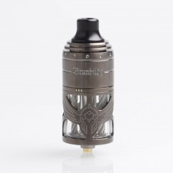 Authentic Vapefly German 103 Brunhilde MTL RTA Rebuildable Tank Atomizer - Gun Metal, Stainless Steel, 5ml, 23mm Diameter