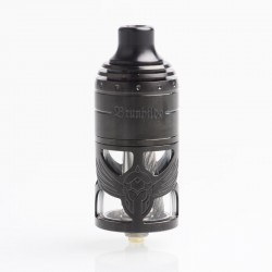 Authentic Vapefly German 103 Brunhilde MTL RTA Rebuildable Tank Atomizer - Black, Stainless Steel, 5ml, 23mm Diameter