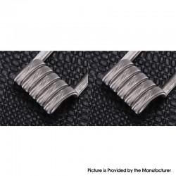 Authentic Goforvape Ni80 Handmade Aliens Heating Wire Pre-built Coil for RDA / RTA - (27GA x 3) + 38GA, 0.25ohm (2 PCS)