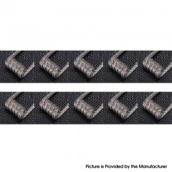 Authentic Goforvape Ni80 Raging Fire Heating Wire Pre-built Coil for RDA / RTA - 28GA + 40GA x 48, 0.18ohm (10 PCS)