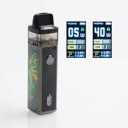 [Ships from HongKong] Authentic VOOPOO VINCI 40W 1500mAh VW Mod Pod System Starter Kit - Jade Green, 5~40W, 5.5ml (Standard)