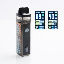[Ships from HongKong] Authentic VOOPOO VINCI 40W 1500mAh VW Mod Pod System Starter Kit - Opal, 5~40W, 5.5ml (Standard)
