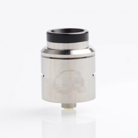C2MNT V2 Style RDA Rebuildable Dripping Atomizer w/ BF Pin - Silver, Stainless Steel, 24mm Diameter