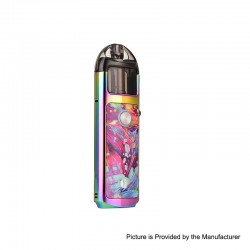 [Ships from HongKong 2] Authentic Lost Vape Lyra 1000mAh 20W Pod System Starter Kit - Rainbow Vortex, Resin, 2ml, 1.4ohm