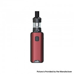 Authentic Eleaf iStick Amnis 2 1100mAh Box Mod Battery w/ GTiO Tank Kit - Red, 0.6ohm / 1.2ohm (Childproof Version)