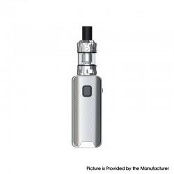 Authentic Eleaf iStick Amnis 2 1100mAh Box Mod Battery w/ GTiO Tank Kit - Silver, 0.6ohm / 1.2ohm (Childproof Version)
