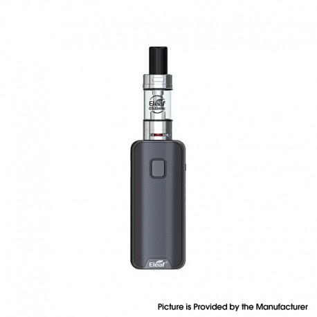 Authentic Eleaf iStick Amnis 2 1100mAh Box Mod Battery w/ GS Drive Tank Kit - Black, 1.8ml / 3ml, 0.6ohm / 1.6ohm