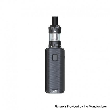 Authentic Eleaf iStick Amnis 2 1100mAh Box Mod Battery w/ GTiO Tank Kit - Black, 0.6ohm / 1.2ohm (Basic Version)