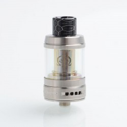 Authentic Innokin iSub-B Sub Ohm Tank Clearomizer - Silver, Stainless Steel + Pyrex Glass, 3ml / 4ml, 0.35ohm, 24mm Diameter