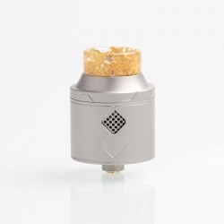 Authentic Goforvape Eternal RDA Rebuildable Dripping Atomizer - Space Grey, Stainless Steel, 25mm Diameter
