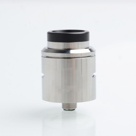 C2MNT COSMONAUT V2 Style RDA Rebuildable Dripping Atomizer w/ BF Pin - Silver, Stainless Steel, 24mm Diameter