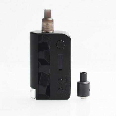 Authentic Vsticking VKsma 1400mAh YiHi Chip DIY Mode TC Mod Kit w/ SMI RADA Dripping Atomizer - Suede Black, 3ml, 10~35J