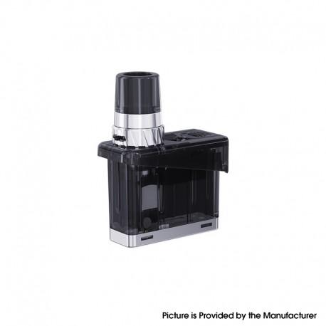 Authentic WISMEC Preva Kit Replacement Pod Cartridge w/ 0.6ohm WR01 Mesh Coil - Black, 3ml, Childproof Version