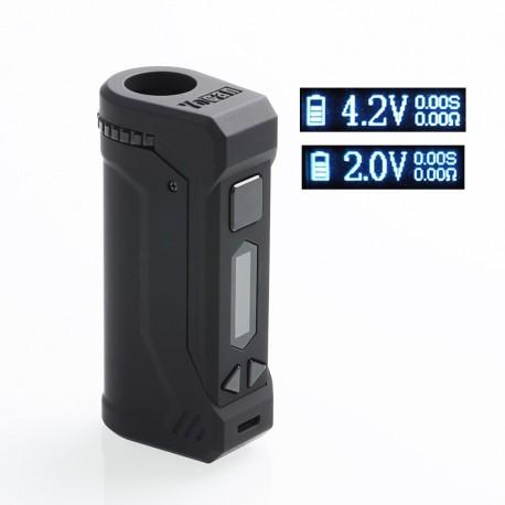Authentic Yocan UNI Pro 650mAh VV Variable Voltage Box Mod - Black, 2.4V~4.2V