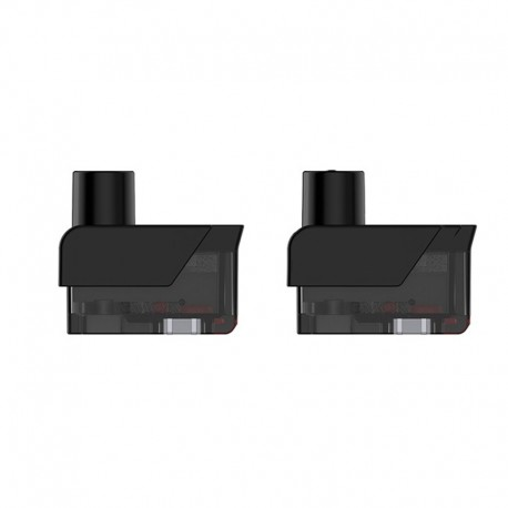Authentic SMOKTech SMOK Fetch Mini Pod System Replacement Empty Nord Pod Cartridge - Black, 3.7ml (2 PCS) (Standard Edition)