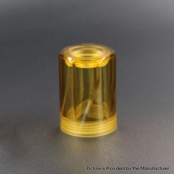 Authentic Auguse MTL RTA Replacement Top Cap Tank Tube - Yellow, PEI, 4ml