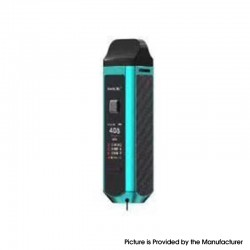 Authentic SMOKTech SMOK RPM40 40W 1500mAh VW Mod Pod System Starter Kit - PET Tiffany Blue Shell, 1~40W, 0.4ohm / 0.6ohm
