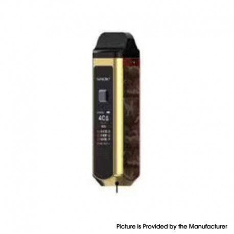 Authentic SMOKTech SMOK RPM40 40W 1500mAh VW Mod Pod System Starter Kit - Gold Camouflage, 1~40W, 0.4ohm / 0.6ohm