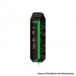 Authentic SMOKTech SMOK RPM40 40W 1500mAh VW Mod Pod System Starter Kit - PET Green Camouflage, 1~40W, 0.4ohm / 0.6ohm