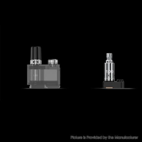 Authentic Lost Vape Orion Q-Pro Q Pro Pod Kit Replacement Cartridge w/ 1.0ohm Regular Coil - Black, 2ml
